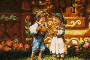 Hansel and Gretel Traditional Version