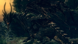 dark souls gaping dragon