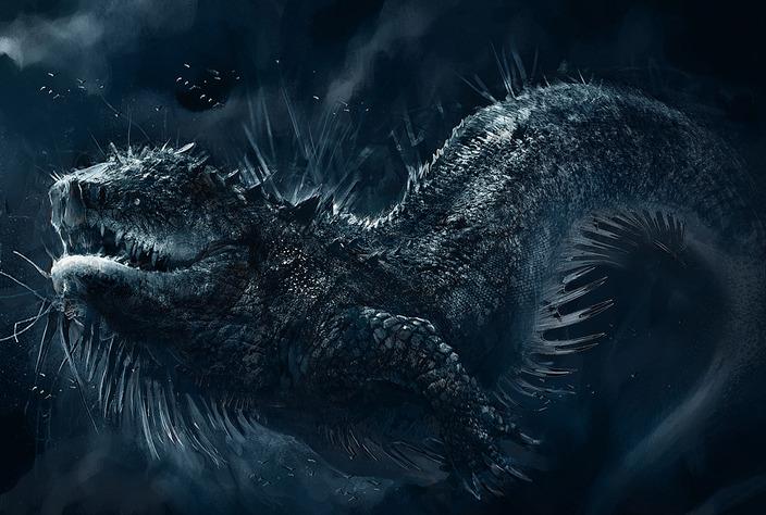 sea dragon mythical creature