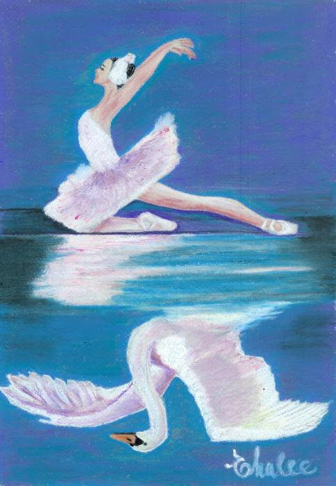 swan lake revisited by elena malec