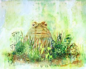 the frog prince by arline wagner fineartamerica.com