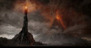 Mount Doom in Mordor
