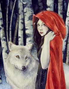 little red riding hood by katrina winter at deviantart.com