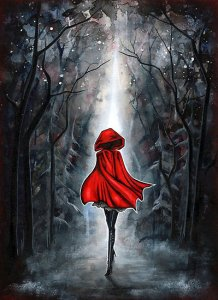 Little Red Riding Hood by Annya Kai at redbubble.com