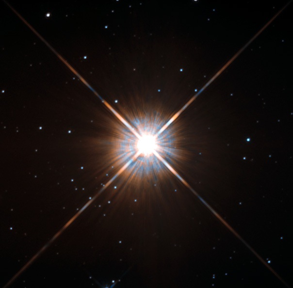 Hubble image of Proxima Centari. Credit ESA/Hubble & NASA from http://www.spacetelescope.org/images/potw1343a/