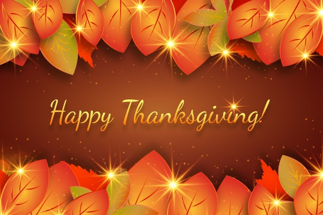 Happy Thanksgiving wishes by monicore on https://pixabay.com/en/thanksgiving-greetings-autumn-3718862/